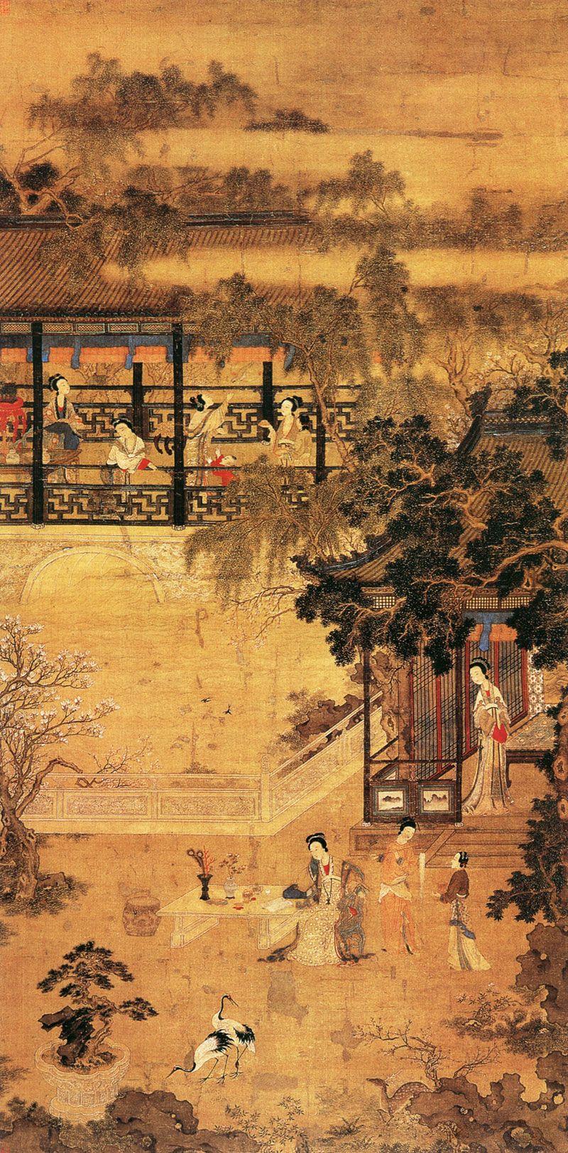 Tang Yin (1470-1524) China, painting. Ming Dynasty | Arte ...