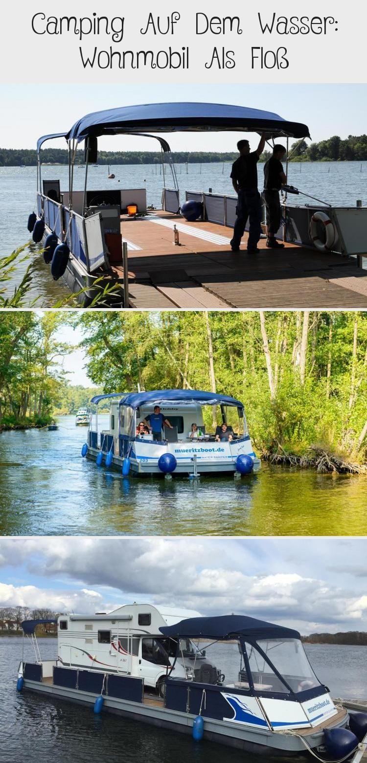 Camping auf dem Wasser - ein außergewöhnliches und völlig neues