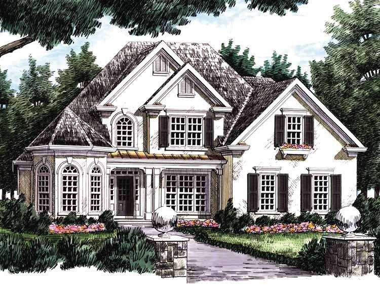 Eplans New American House Plan - One-Story Turret - 2551 ... on 2015 home designs, tri-level home designs, stylish eve home designs, unusual home designs, dining room designs, pool home designs, 4 bedrooms home designs, future home designs, stone home designs, affordable home designs, off the grid home designs, metal home designs, two level home designs, two family home designs, small 2 storey house designs, community pool designs, small home designs, two bedroom home designs, 4-plex home designs, split bedroom home designs,