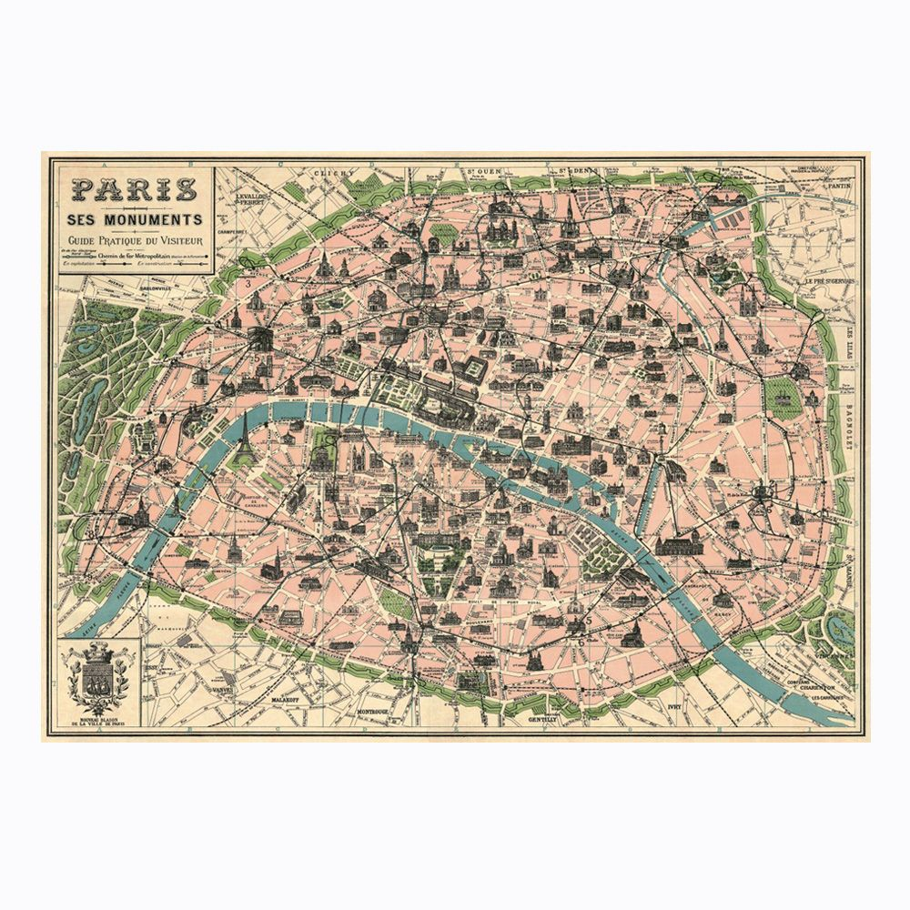 Paris map paper stuff pinterest paris map and prints cavallini stationery bird and butterfly wrapping paper celestial charts world maps and botany and anatomy style posters this wrapping paper is perfect gumiabroncs Choice Image