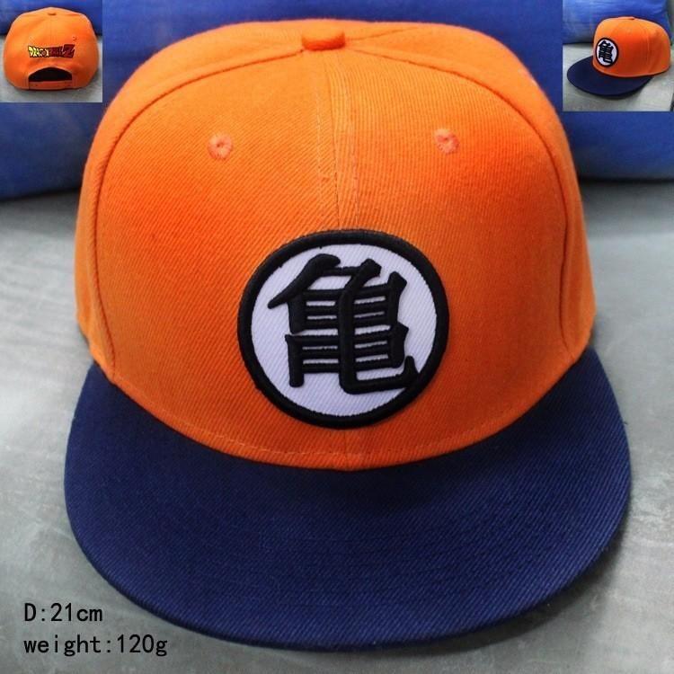 Dragon Ball Z Son Goku Roshi Hip Hop Adjustable Snapback Hat Anime Baseball Cap