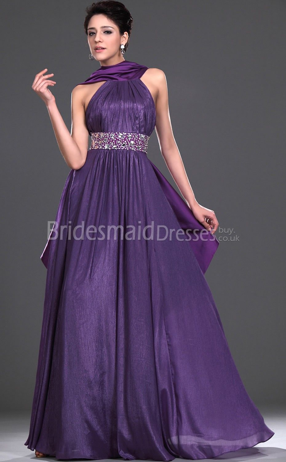 purple bridesmaid dresses | Purple bridesmaid dresses for a summer ...