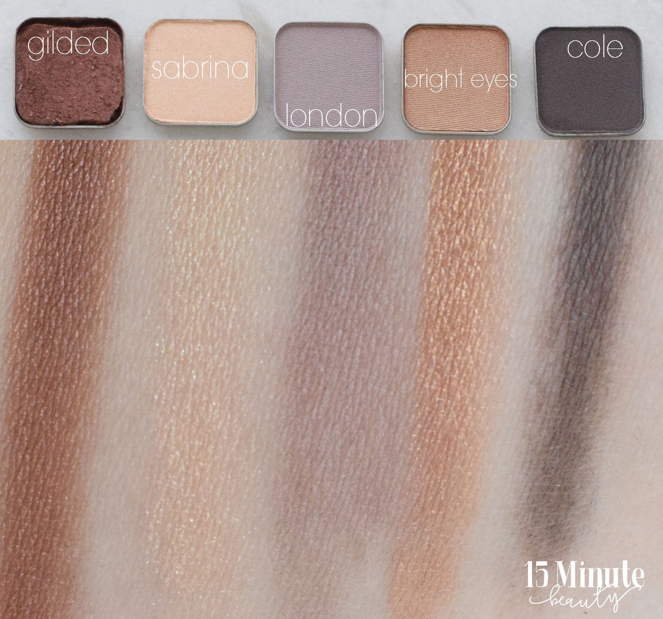 Maskcara Eyeshadow Review and Swatch (With images