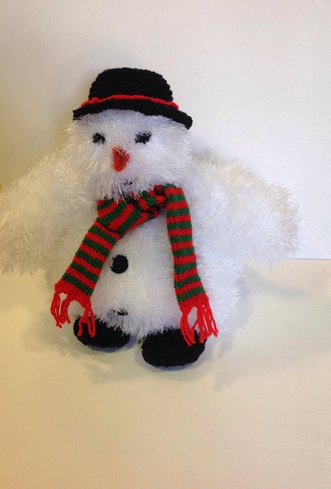 Knitted snowman Kingcole Tinsel
