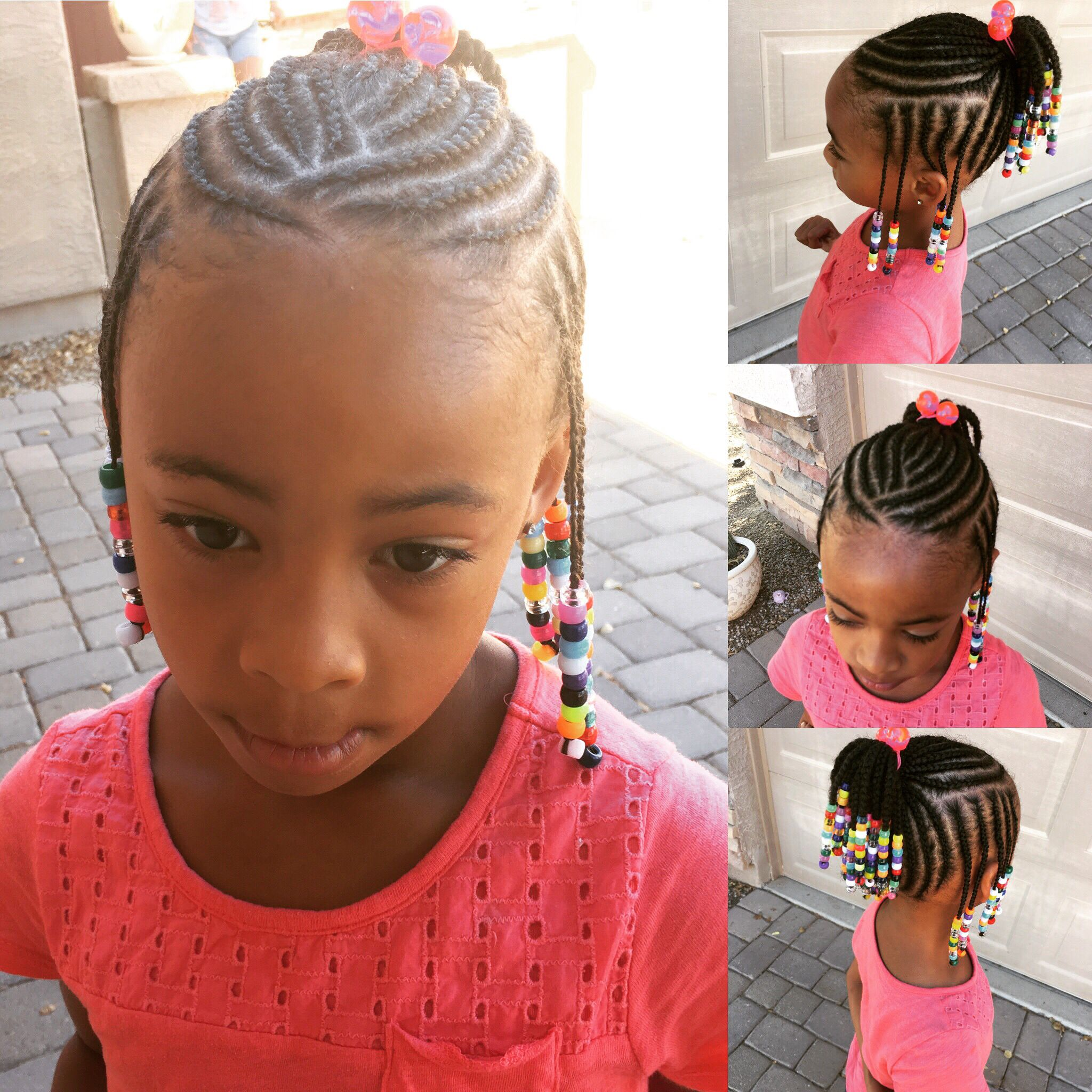 Peachy Braids By Queen Lil Girl Hairstyles Little Girl Braids Braids Natural Hairstyles Runnerswayorg