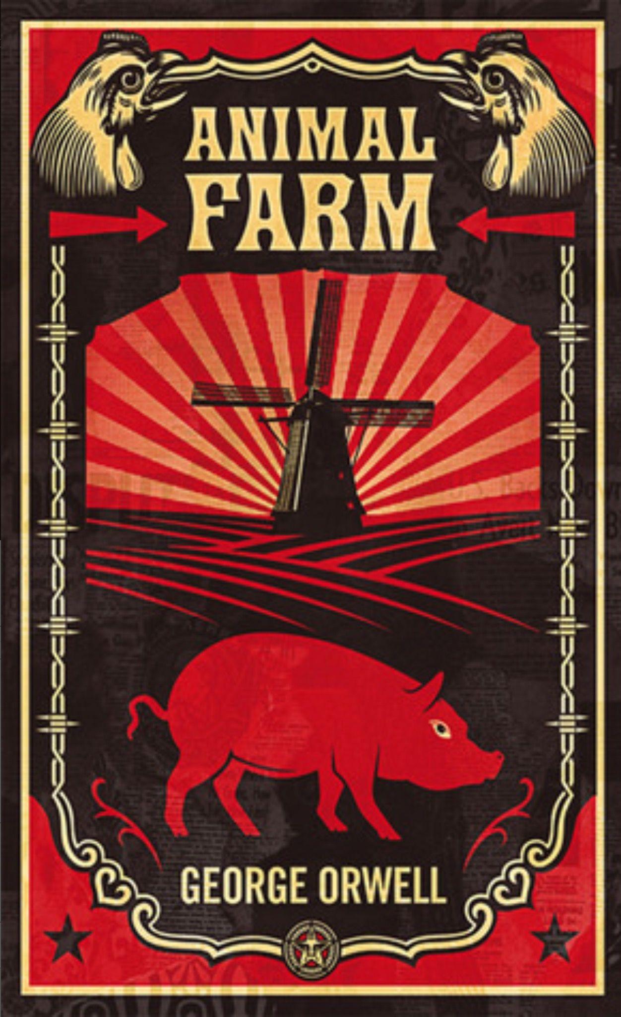 Animal Farm by Orwell Animal farm book, Animal
