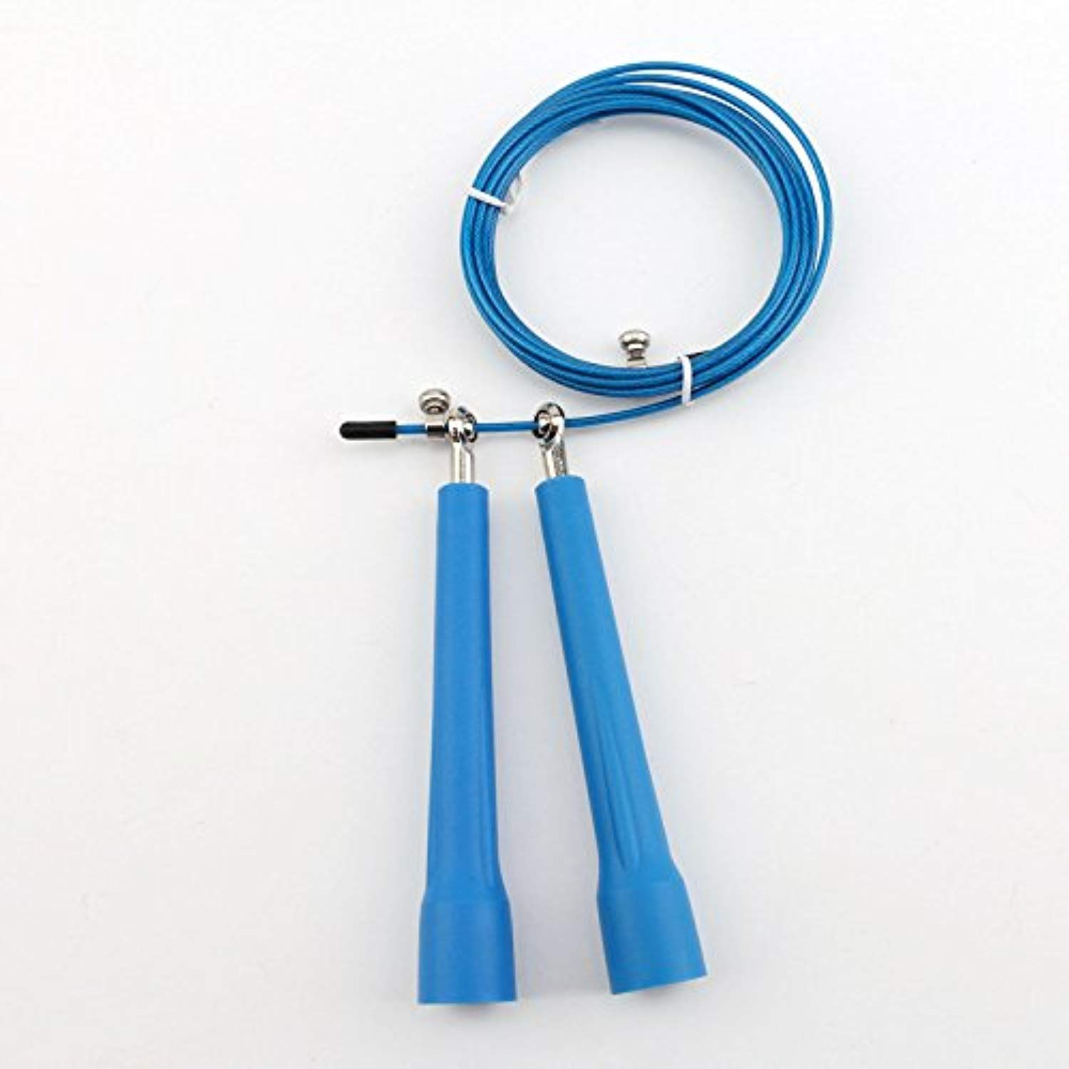 Yongtong Jump Rope Plastic Fitness Jumprope With Adjustable 11 Foot Cable Features Ball Bearing System Best Pvc Viny Jump Rope Pvc Vinyl Workout Accessories