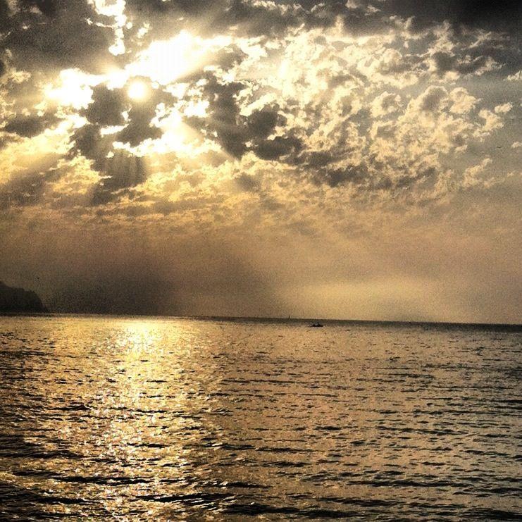 Foto desde la playa del Albir.