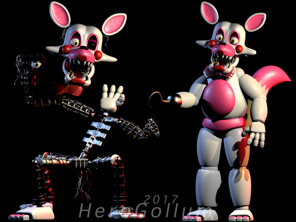 mangle toy foxy mangle and her best friends funtime foxy fnaf