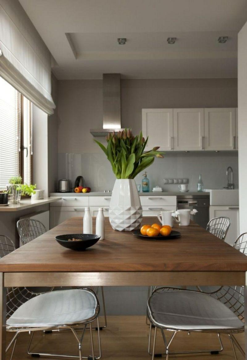 Farbgestaltung kuche perlengrau weiss skandinavisch modern kitchen design interior my house also deco in rh pinterest