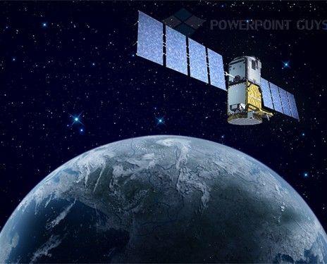 Satellite PowerPoint Template Technology PowerPoint Template - it powerpoint template