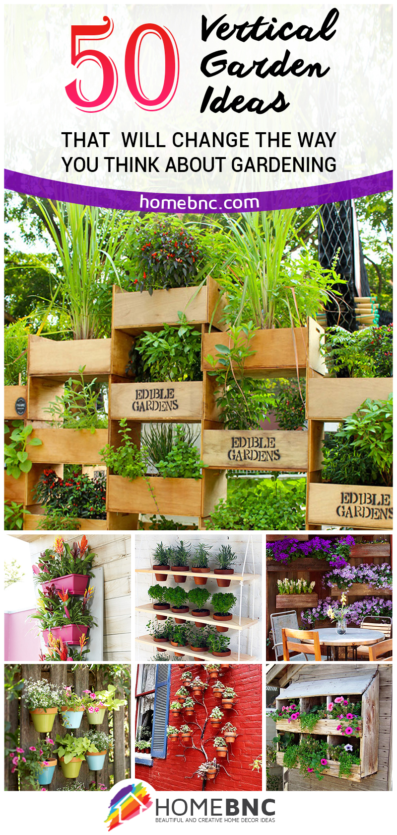 50 Vertical Garden Ideas That Will Change the Way You