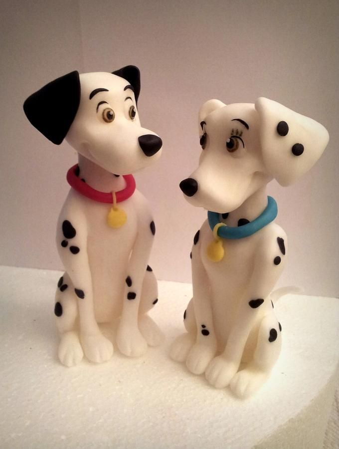 Topper One Hundred And One Dalmatians Cake Topper