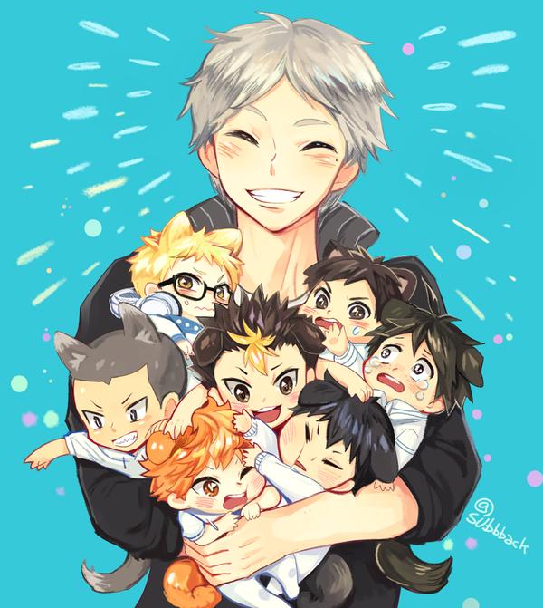 Best Mom award goes to Suga Haikyuu anime, Haikyuu