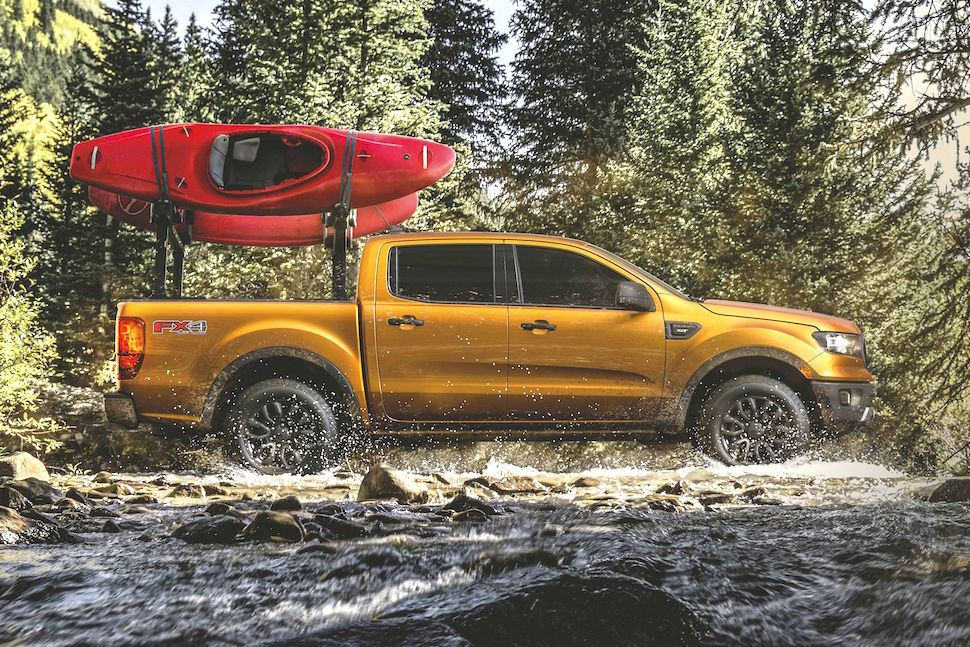 Ford & Yakima Teamup on 2019 Ranger Adventure Accessories