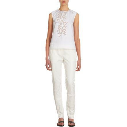 Maiyet Center Stream Straight Leg Pants Sale up to 70% off at Barneyswarehouse.com