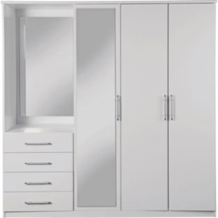 Argos Bedroom Furniture Impressive Buy Vancouver Wardrobe Fitment  White At Argoscouk  Your Review