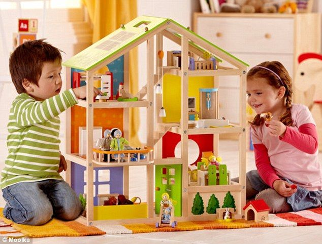 Boys Can Play Too! How Gender-neutral Dollhouses Are