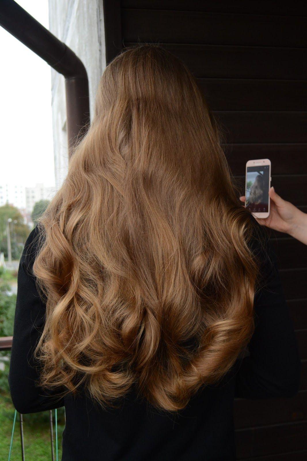 Pin Von Amelie Auf Hair Frisur Lange Haare Locken Frisuren