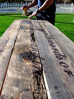 Other Idea For Table Or Down The Road Outside Diy Driftwood Art With Vinegar And Steel Wool Stain