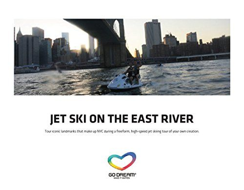 Jet Ski Tour East River New York Experience Gift Card NYC GO DREAM ...