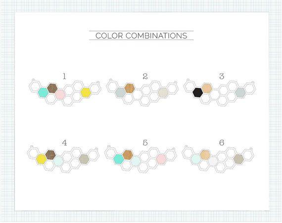 Kim Necklace, Geometric Necklace, Geometric Jewelry