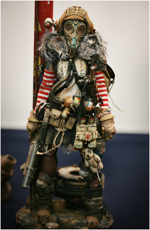 Post-apocalyptic dolls by Yeon Guun Jeong/BHEAD