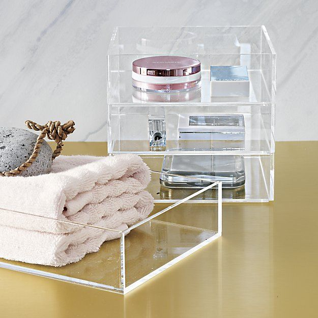 Acrylic Bath Accessories