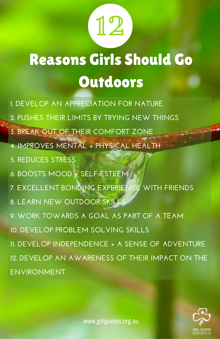 As A Girl Guide, You Can Enjoy The Outdoors In Many And -4220