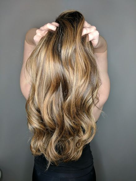 Ombre, Balayage, Long Layer, Highlights, Brown Hair, Natural Highlights, Smooth Hair