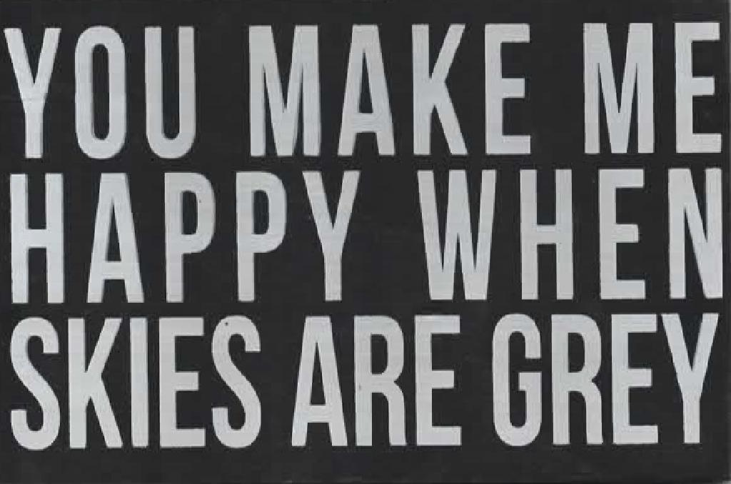 """You Make Me Happy"" Wooden Postcard"