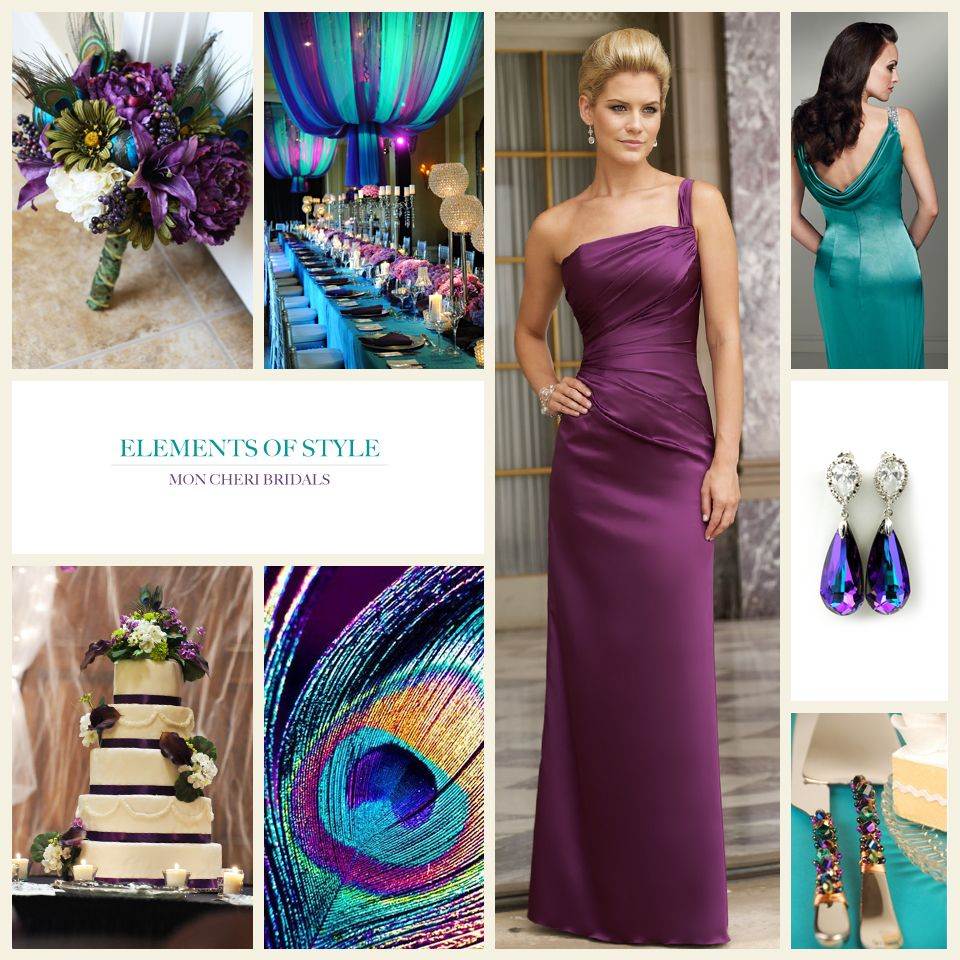 Medium Crop Of Peacock Wedding Dress