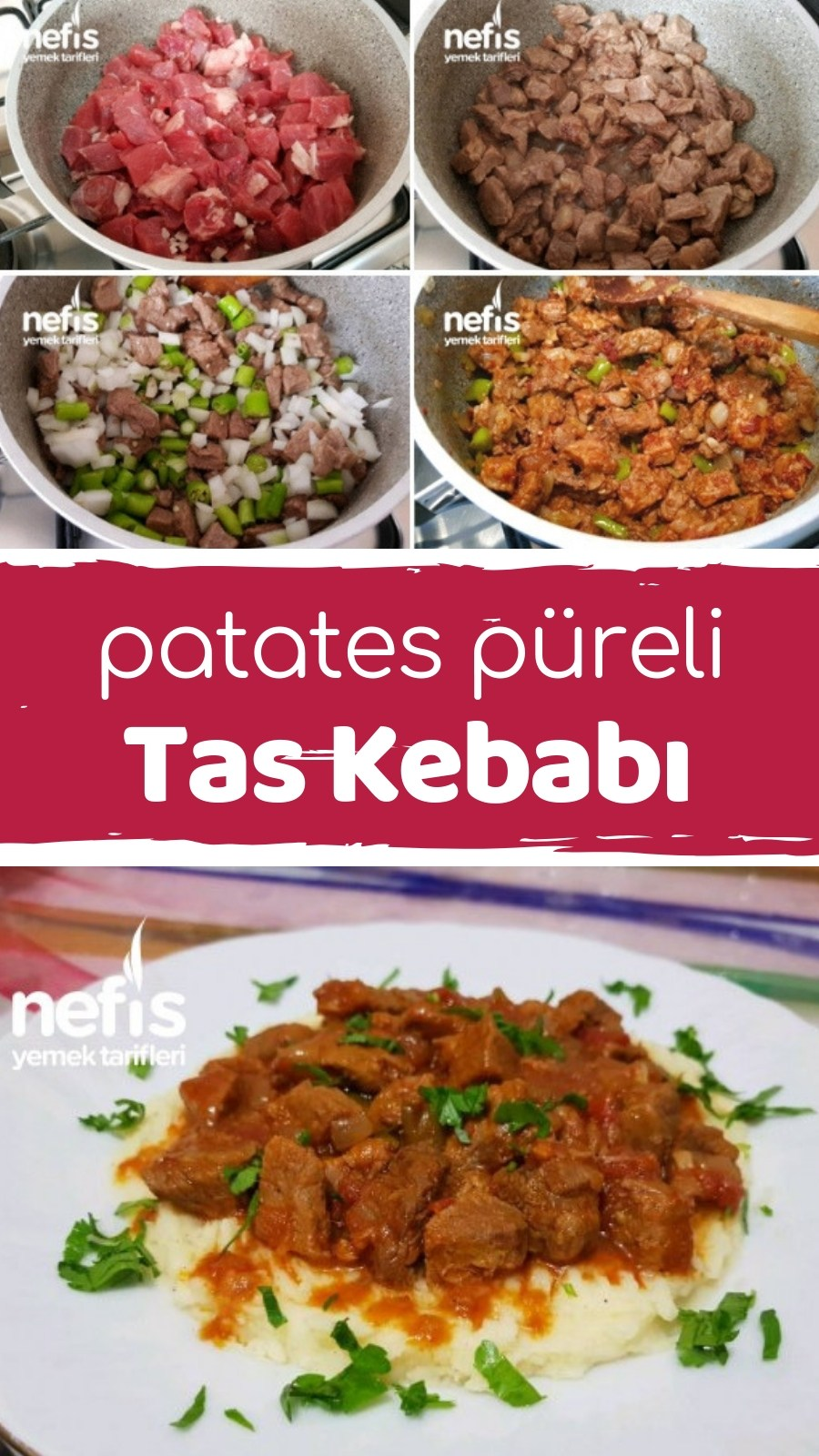 Photo of Tas Kebabı (Potato Puree) How to make a recipe? 7,113 people …