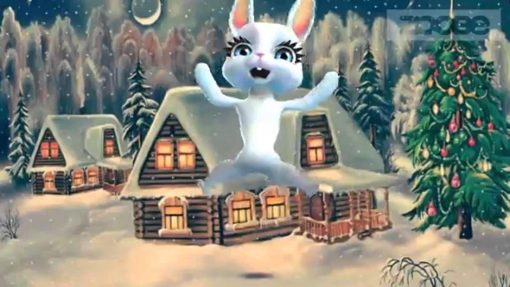 Bunny hätte gerne eine Weihnachtsmütze und singt Weihnachtslieder ...