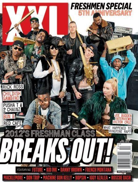 XXL Magazine's 2012 Freshmen Class.