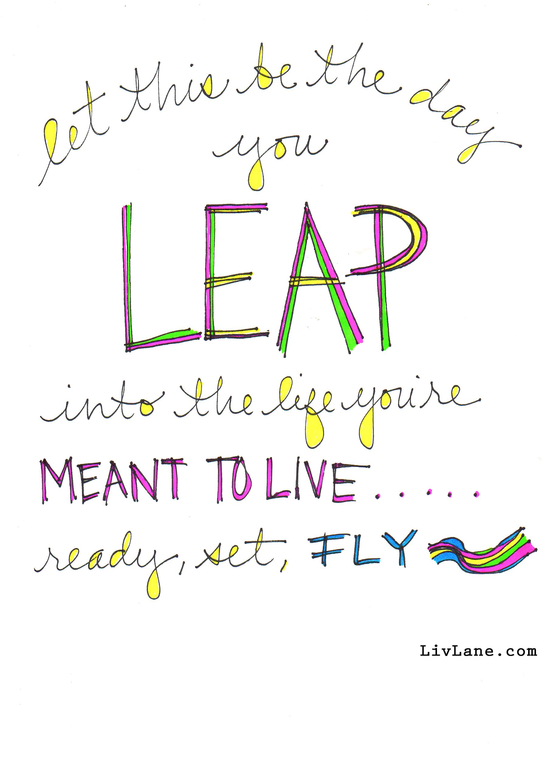 Happy Leap Day! Here's a little gift for all of you a