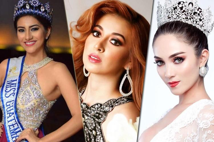 Guatemala's representatives to the international beauty pageants in