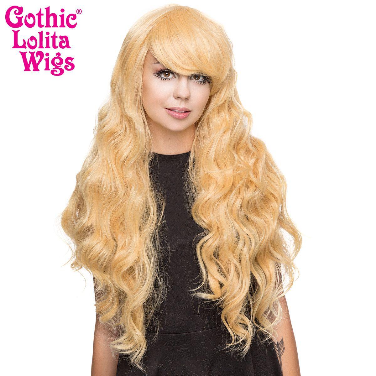 Gothic Lolita Wigs® <br> Classic Wavy Lolita™ Collection - Tokyo Blonde-00188
