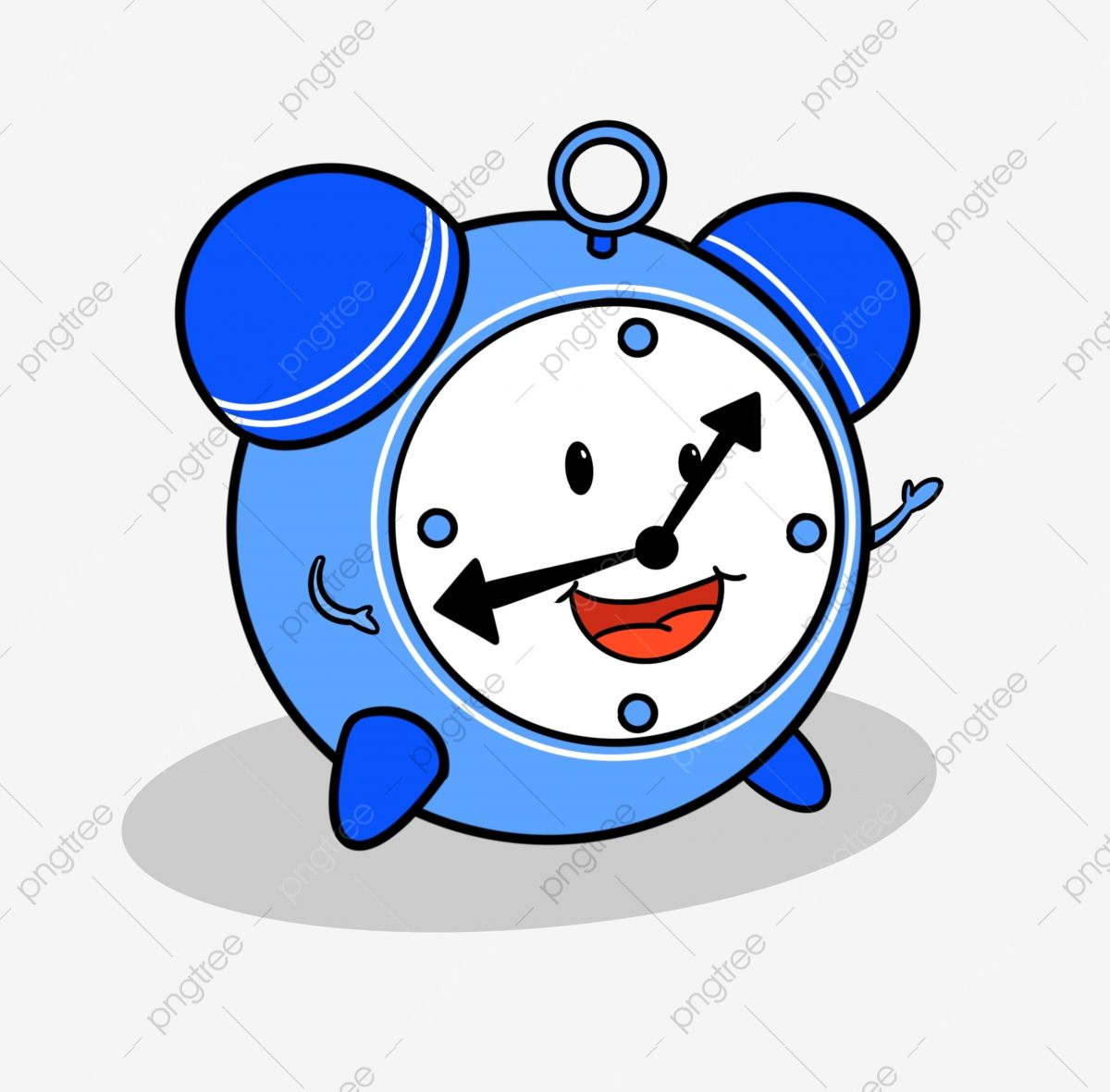 عقارب الساعة رسوم متحركة مشبك مجاني أزرق الكرتون وقت لطيف Png وملف Psd للتحميل مجانا Printing On Fabric Prints Cartoon