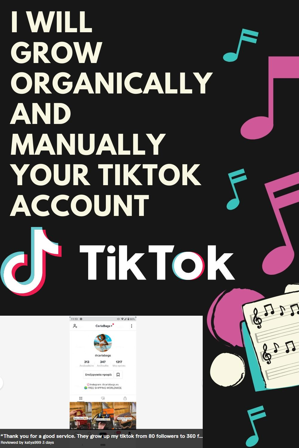 I Will Do Promote And Grow Your Tiktok To 1m Fans Manually In 2021 Advertising Ideas Business Promotional Products Marketing Promotion Strategy
