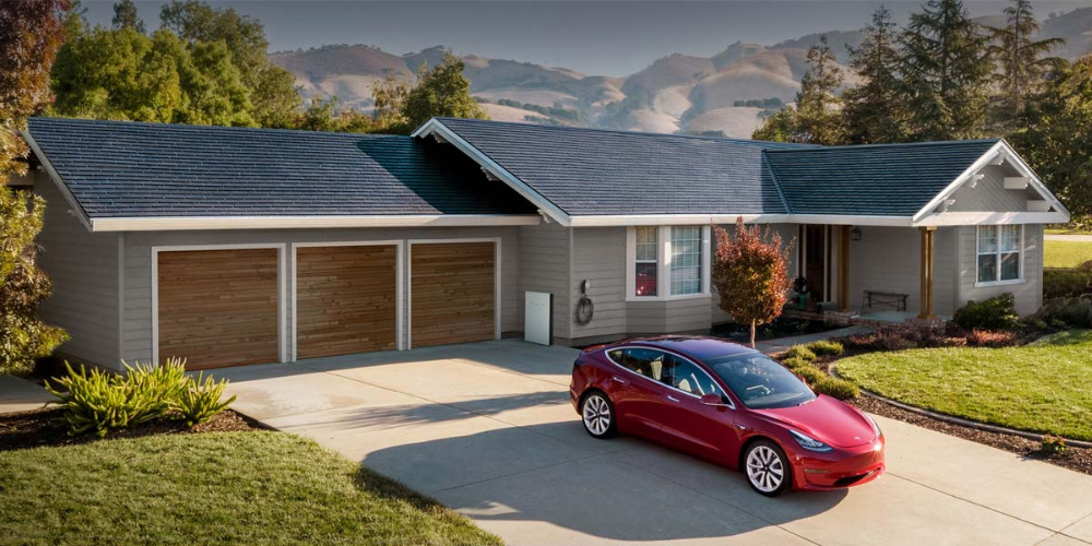 The Tesla Solar Panel Roof Tiles Released In 2018 Has Changed The Game For Solar Shingles Because They Replac In 2020 Tesla Solar Roof Solar Shingles Solar Panels Roof
