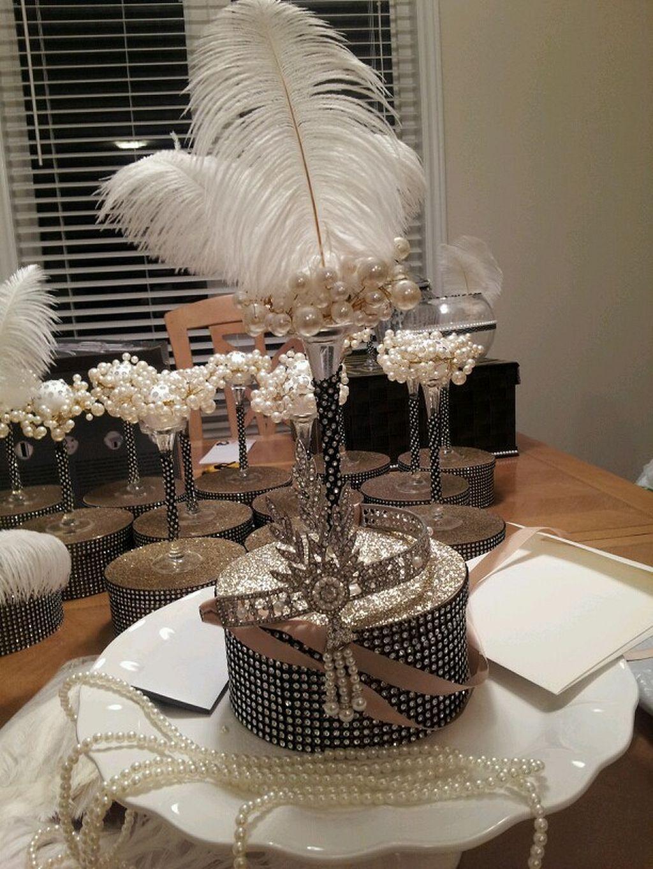 40 Great Gatsby Wedding Centerpieces Ideas 20