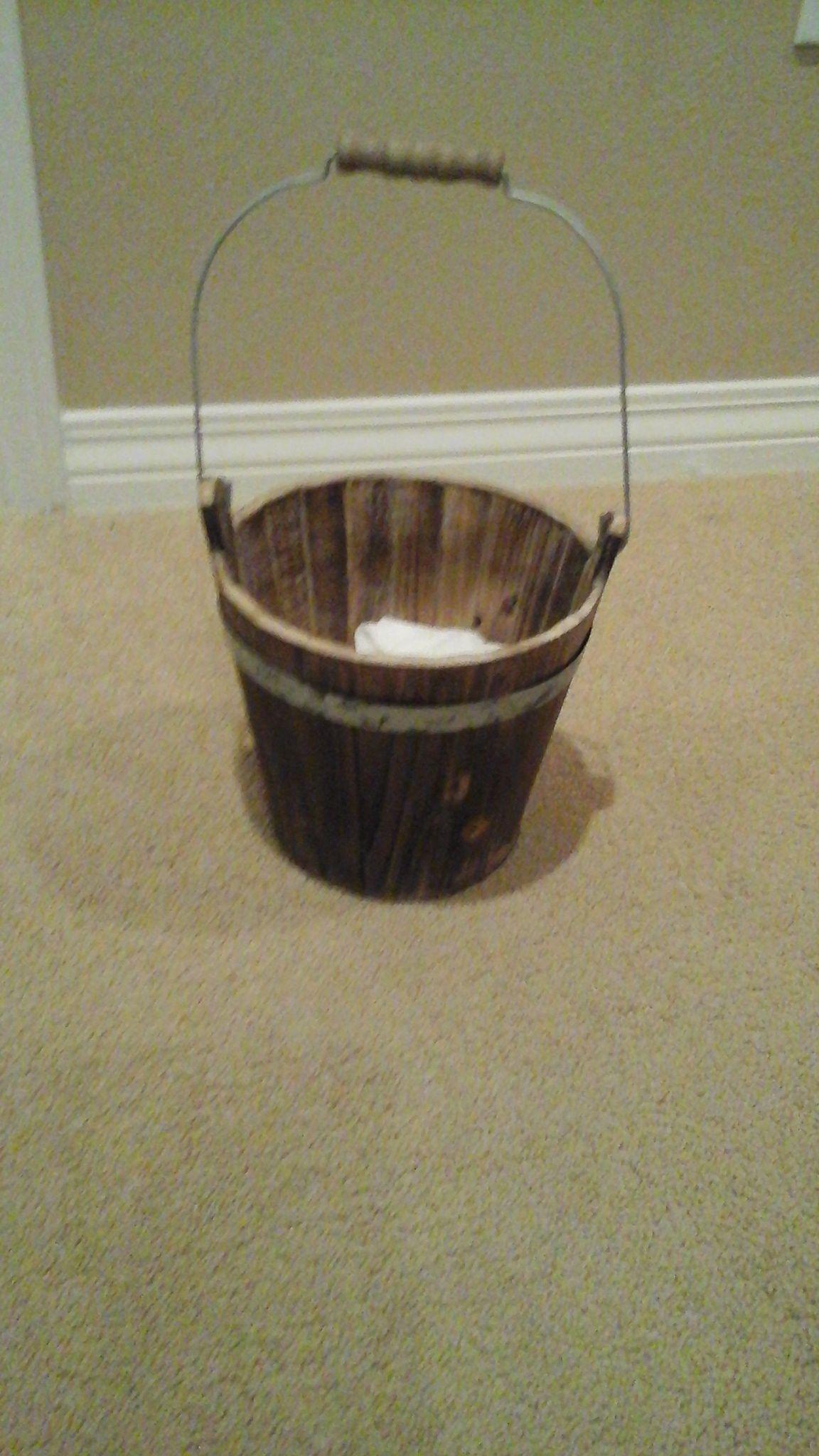 Flower girl basket found on Etsy