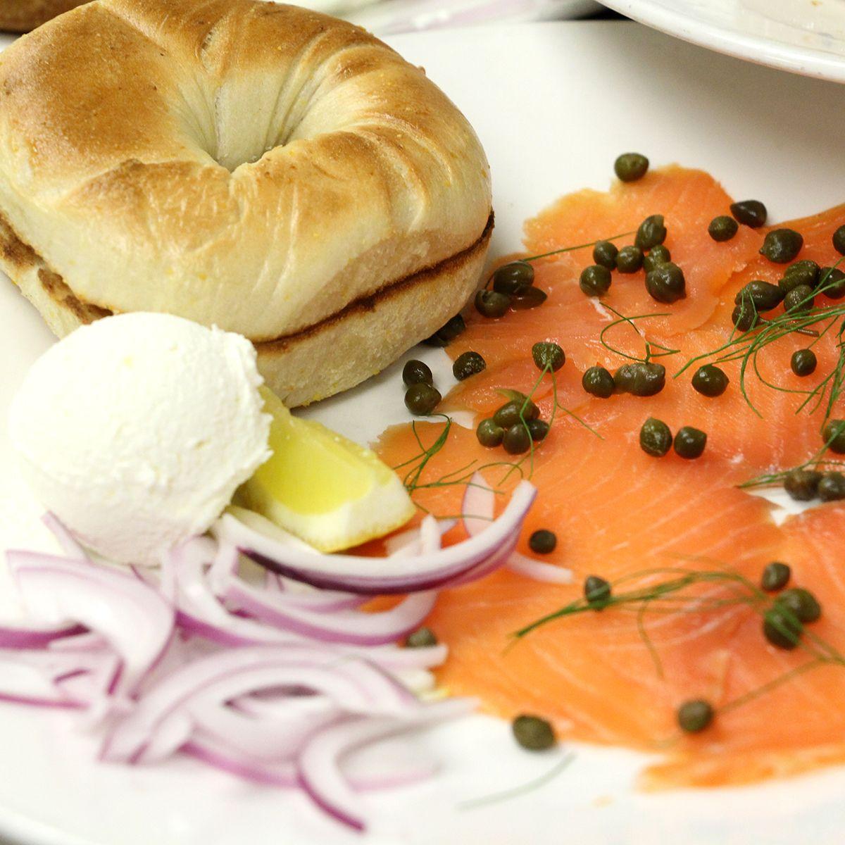 Bagel & Lox to knock your morning socks off! http://bytheblueseasantamonica.com/restaurants-terrazza.html