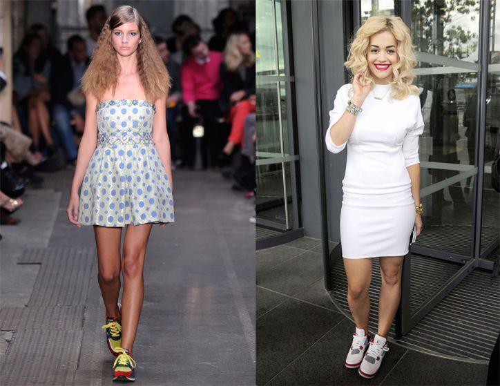Fashion dresses shoes