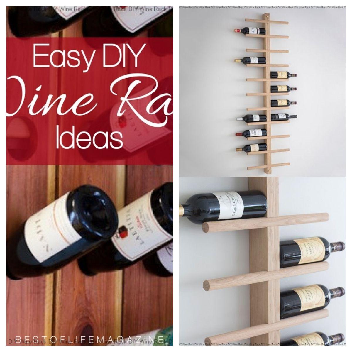 Pin On Diy Wine Rack