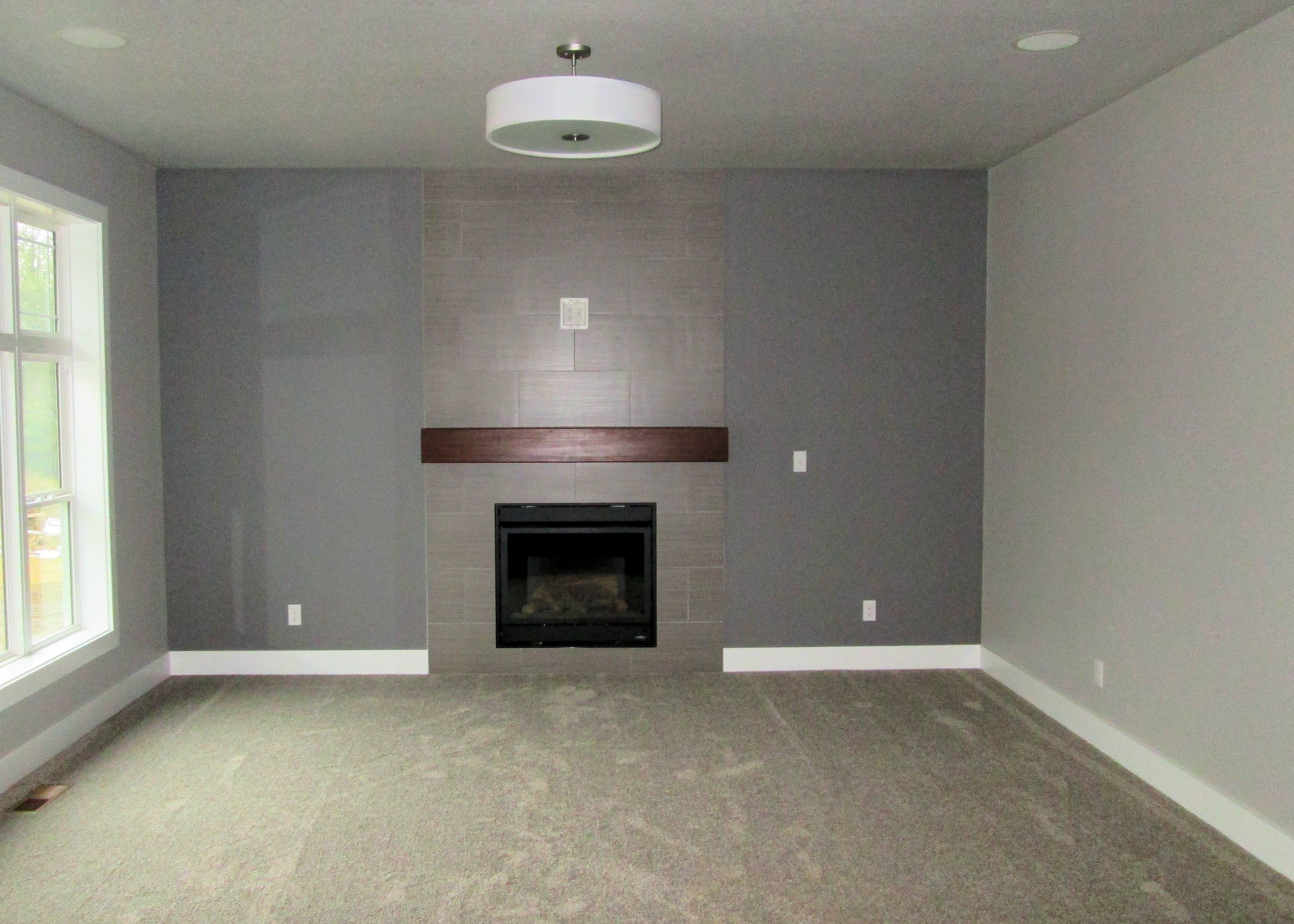 Place Of Dust Used On Walls And Ceilings With White Trim