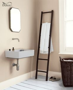dulux easycare bathroom soft sheen emulsion paint calico