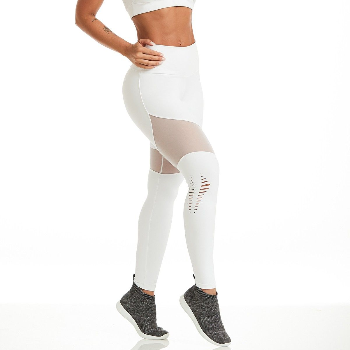 e7957d4be2d CAJUBRASIL LEGGINGS NZ POWERFUL -WHITE Sexy Workout Clothes