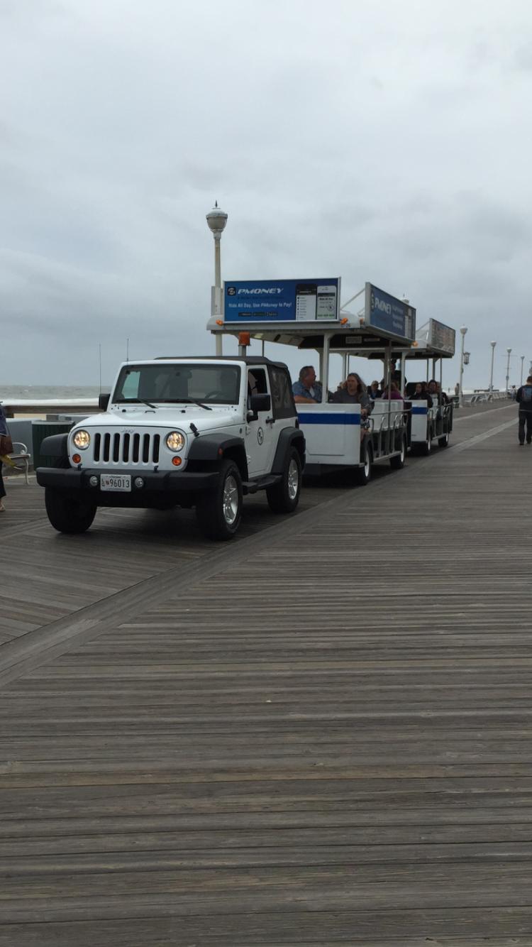 Jeep Wrangler On Boardwalk Duty In Ocean City Maryland Awesome